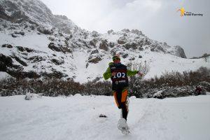 Azara Garcia de los Salmones -Campeona de España -Raquetas de Nieve
