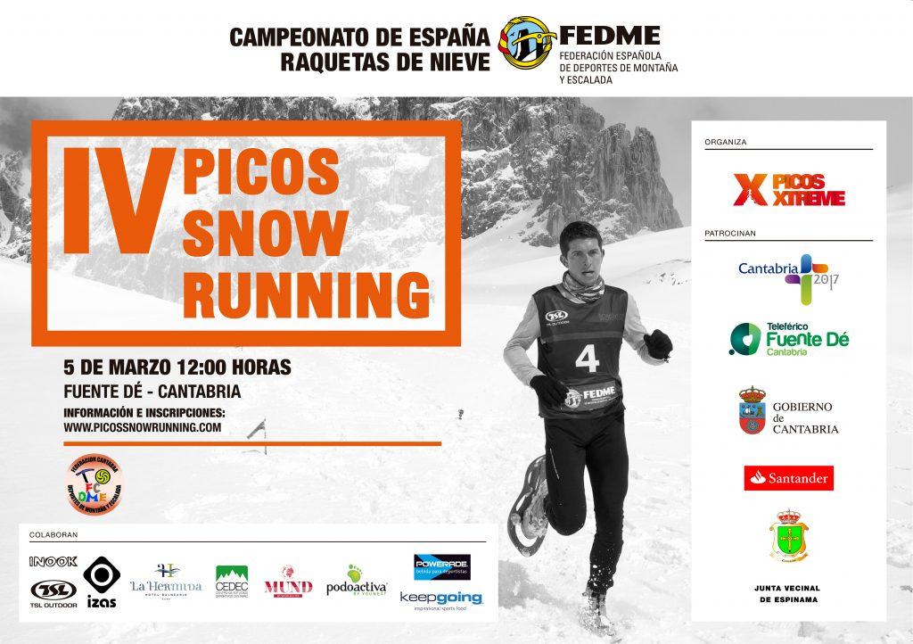 IV PICOS SNOW RUNNING_CARTEL 2017_IMPRIMIBLE