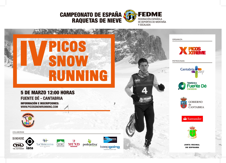 Campeonato de España de Raquetas de Nieve - Picos de Europa