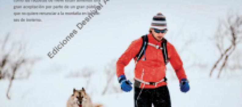 Revista Grandes Espacios – Correr con raquetas, EL RUNNING BLANCO