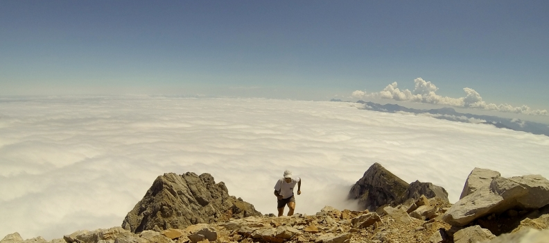 Peña Vieja. Mar de nubes