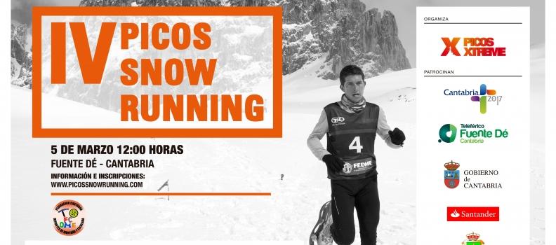 V Campeonato de España de Raquetas de Nieve – Fuente Dé – Picos de Europa-Cantabria