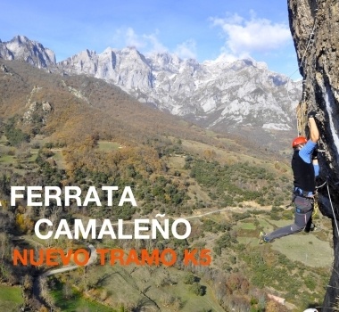 Tramo K5 – Via Ferrata Camaleño