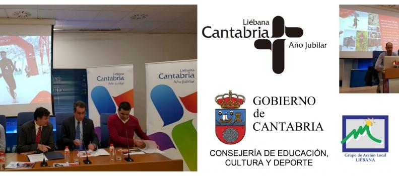Presentaciones del Mundial de Raquetas de Nieve Cantabria – España 2018