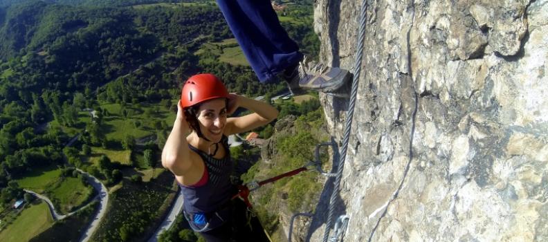 Nuevo sector de escalada deportiva de los Zaborros en Los Llanos