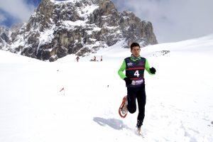 Manuel Merillas Campeonato de España de raquetas de nieve